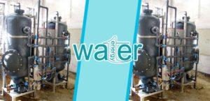 Filtro ai carboni attivi per acqua